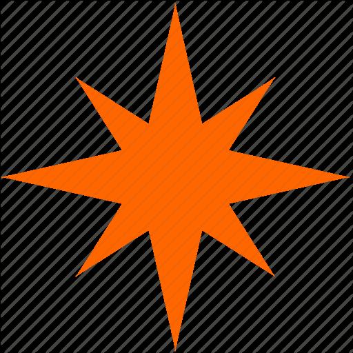 Flash, Geometry, Spark, Star Icon