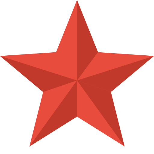 Star Icon Christmas Flat Color Iconset