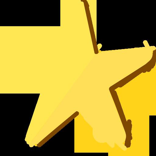Modernxp Star Icon Modern Xp Iconset Dtafalonso
