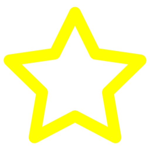 Yellow Star Icon Images
