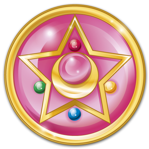 Crystal Star Icon Sailor Moon Iconset Carla Rodriguez