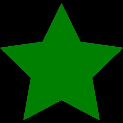 Green Star Icon