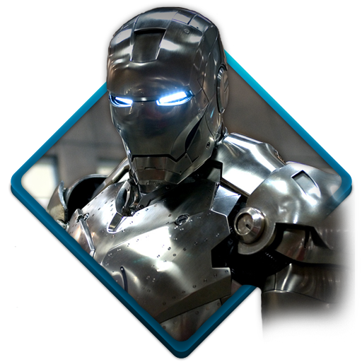 Iron, Man Icon Free Of Water Gaming Icons