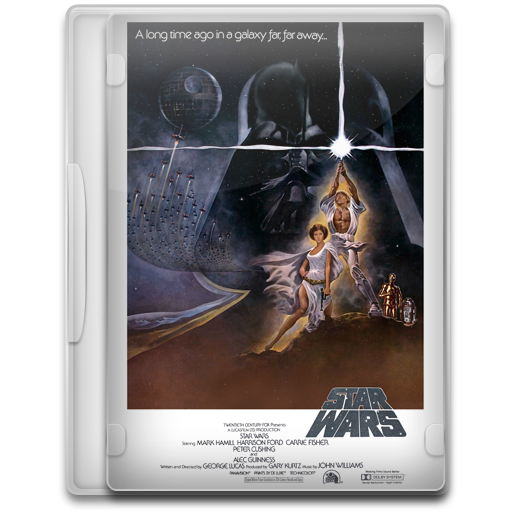 Star Wars Episode Iv A New Hope Icon Movie Mega Pack Iconset