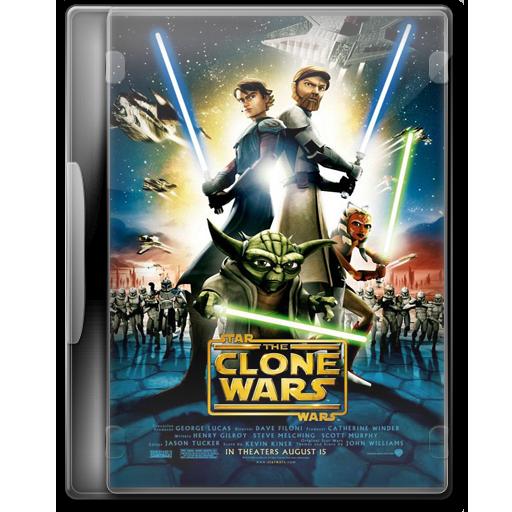 Star Wars The Clone Wars Icon Star Wars Dvd Iconset Manueek