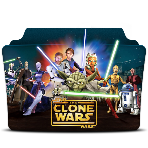 Star, Wars, The, Clone, Wars, X, Folder Icon Free Of Tv Series