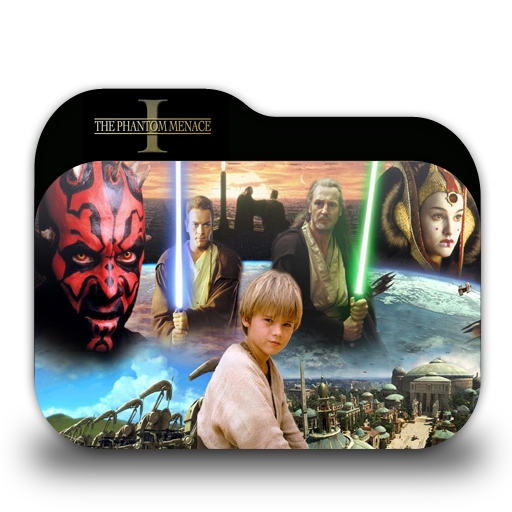 Star Wars Episode I Folder Icon
