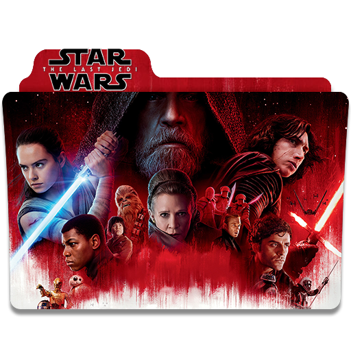 Star Wars The Last Jedi Folder Icon