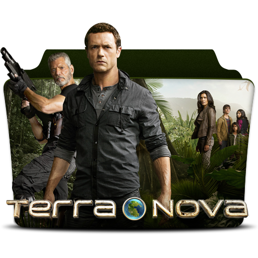 Terra, Nova, X, Folder Icon Free Of Tv Series Folder Pack Icons