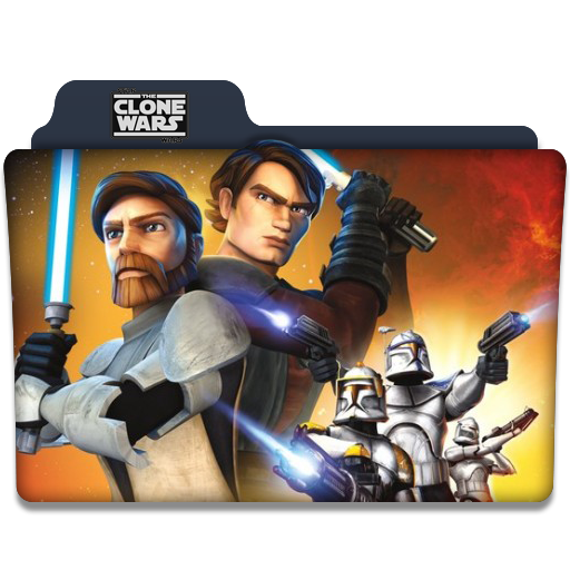 The Clone Wars Tv Series Folder Icon