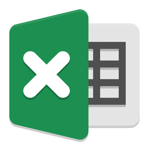 Ms Excel Icon Papirus Apps Iconset Papirus Development Team