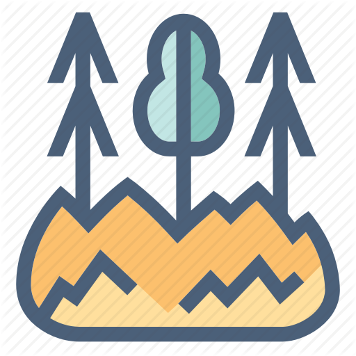 Burn, Fire, Flame, Forest, Smoke, Wilderness, Wildfire Icon