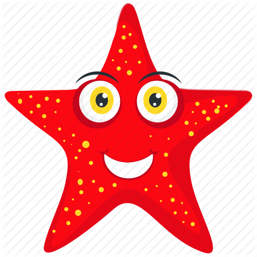 Asteroid, Echinoderm, Sea Animal, Sea Stars, Starfish Icon