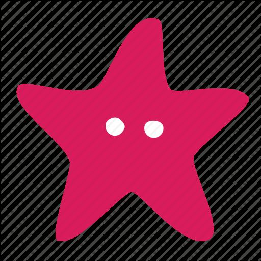 Sea, Star, Starfish Icon