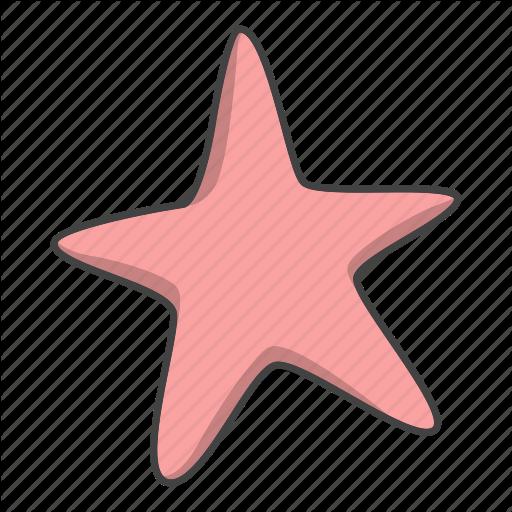 Star, Starfish Icon