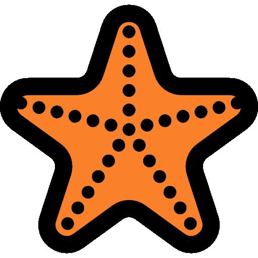Starfish Flat Icon
