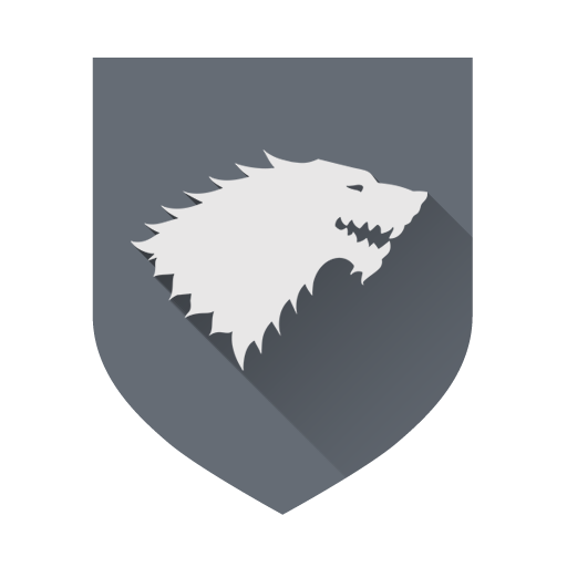 Stark, Game Of Thrones Icon Free Of Game Of Thrones Houses