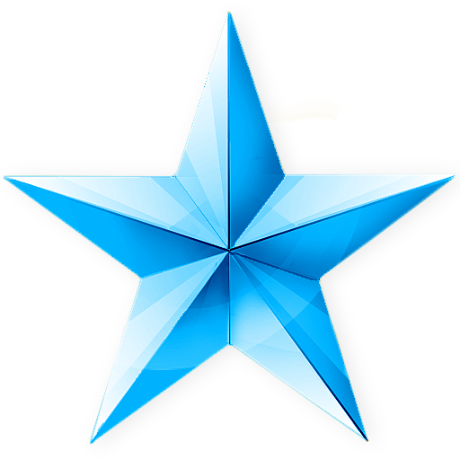 Blue Sky Star Png Clipart Image Icon