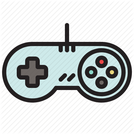 Colored, Controller, Game, Games, Retro, Super Nintendo Icon