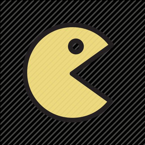 Colored, Game, Games, Pacman, Retro Icon
