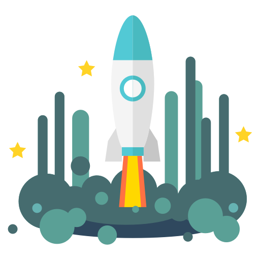 Launch, Rocket, Space, Spacecraft, Spaceship, Starship, Startup Icon