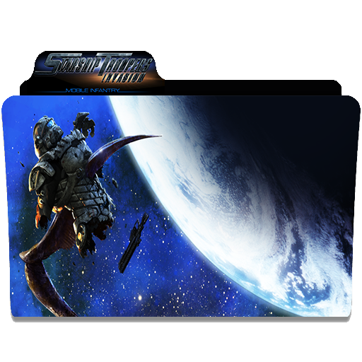 Starship Troopers Invasion Folder Icon