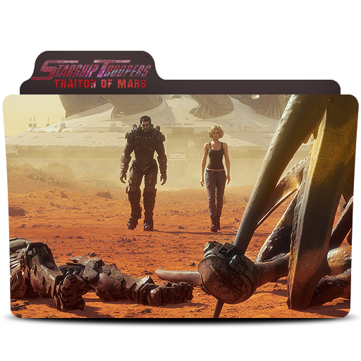 Starship Troopers Traitors Of Mars Folder Icon