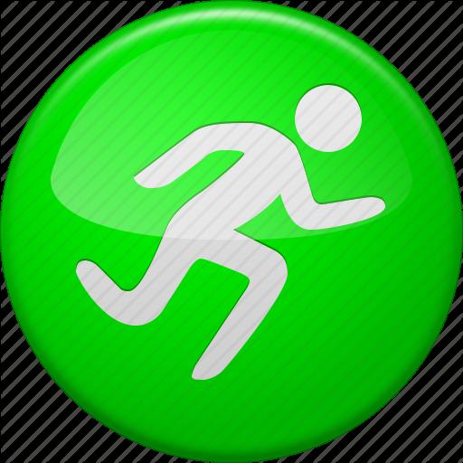 Activity, Go, Run, Running, Sport, Start Button, Training Icon