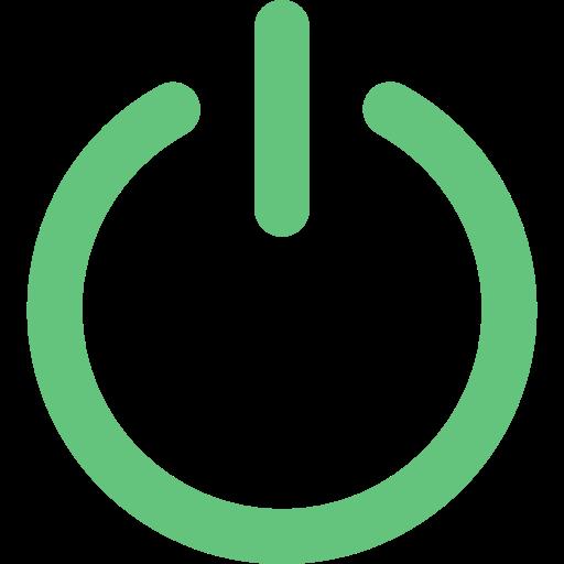 Energy, Multimedia, Power, Interface, Power Button, Power