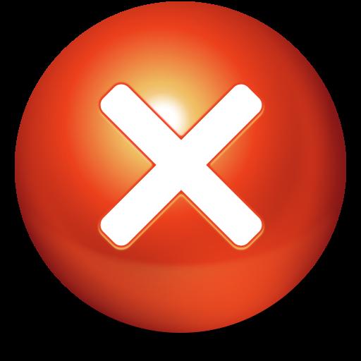 Ball, Stop Icon