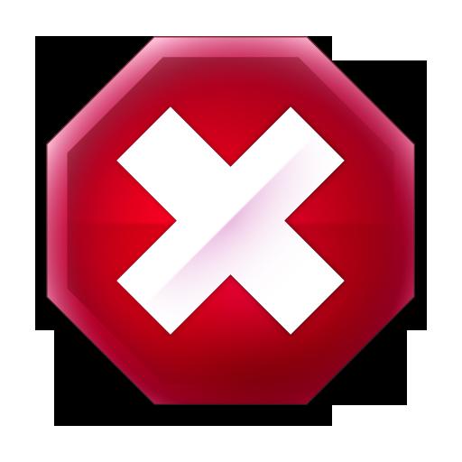 Stop X Icon