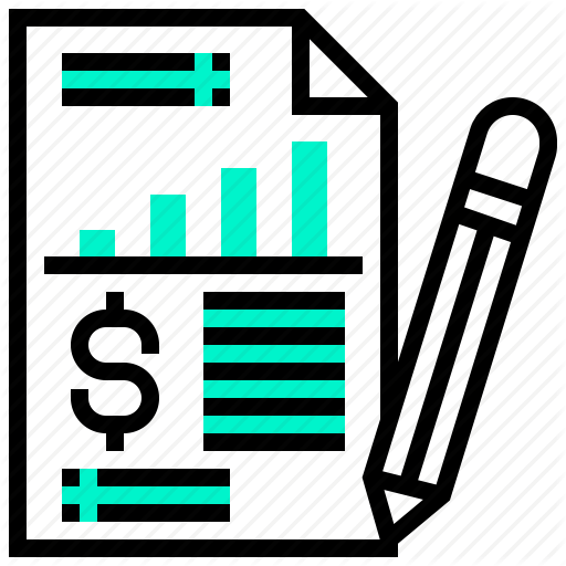 Analysis, Chart, Document, Income, Report, Statement Icon