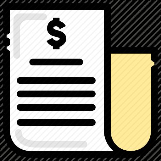 Balance Sheet, Bank Statement, Banking, Finance Icon
