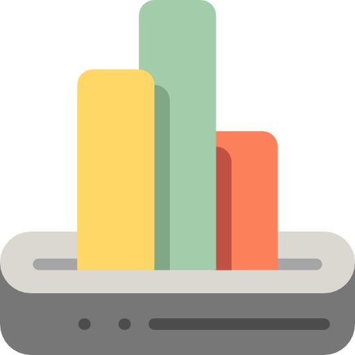 Business And Finance, Seo And Web, Statistics Icon