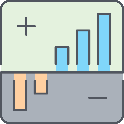 Stats Growth Png Icon
