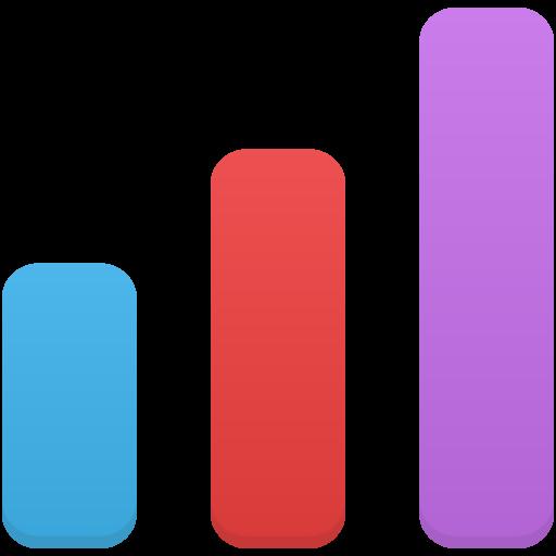 Stats Icon Flatastic Iconset Custom Icon Design
