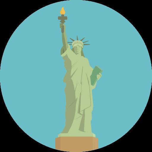 America, Landmark, Monuments, Statue Of Liberty, United States