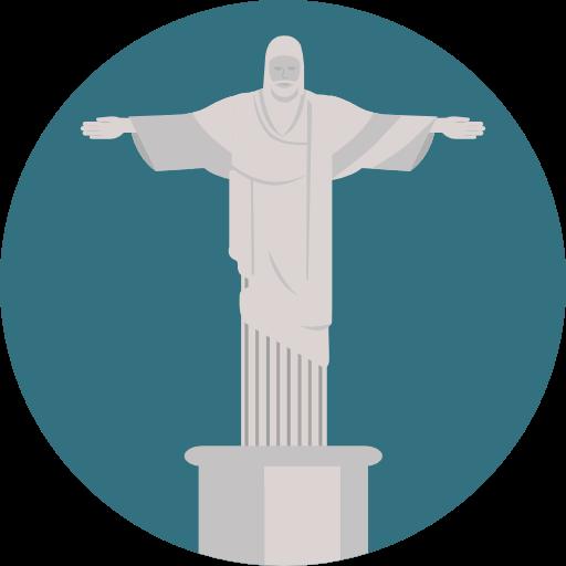 Brazil, Monument, Statue Icon
