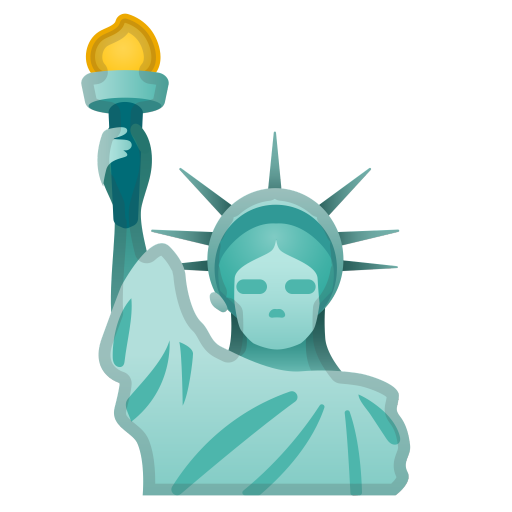 Statue Of Liberty Icon Noto Emoji Travel Places Iconset Google