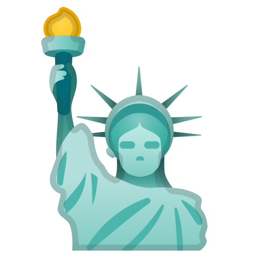 Statue, Of, Liberty Icon Free Of Noto Emoji Travel Places Icons