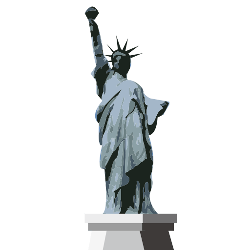 Statue Of Liberty Emoji For Facebook, Email Sms Id