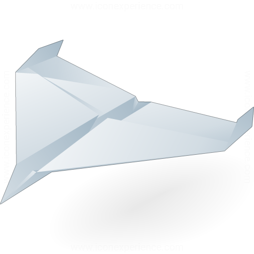 Iconexperience V Collection Paper Jet Icon