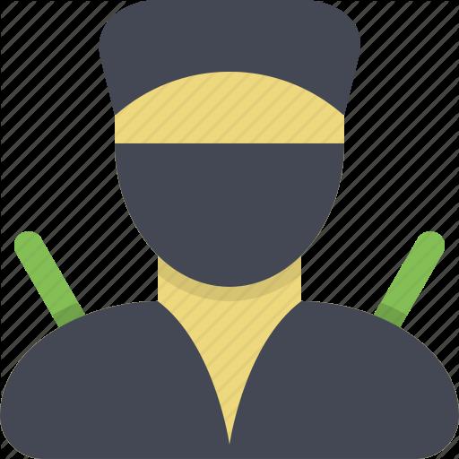 Ninja, Samur Stealth, Warrior Icon