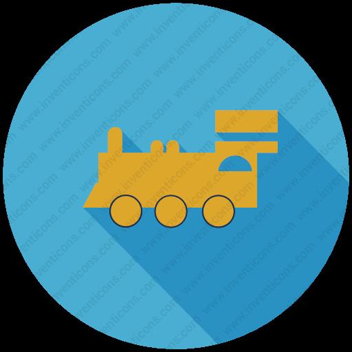 Download Train Engine,transport,steam Engine,tran Inventicons