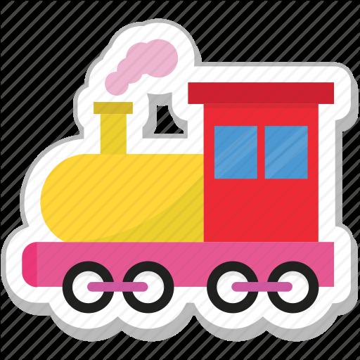 Engine, Locomotive, Steam Engine, Train, Transport Icon