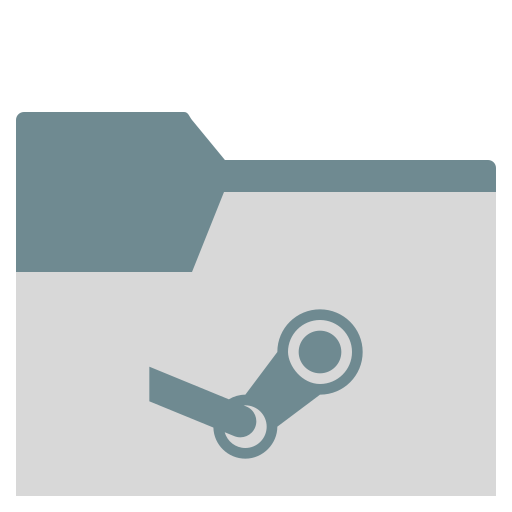 Folder, Steam Icon Free Of Zafiro Places