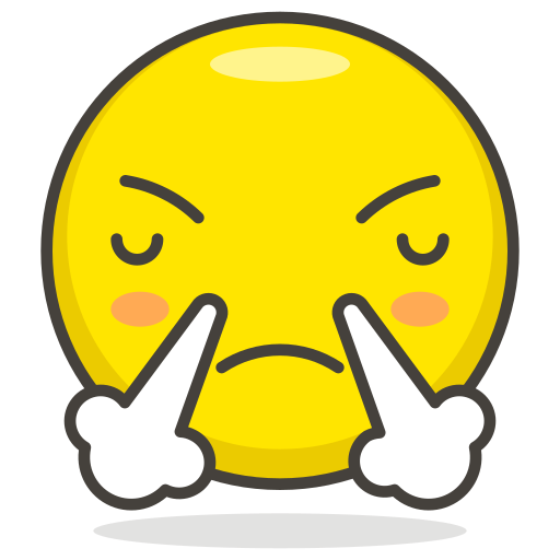 Face, With, Steam, From, Nose Icon Free Of Free Vector Emoji