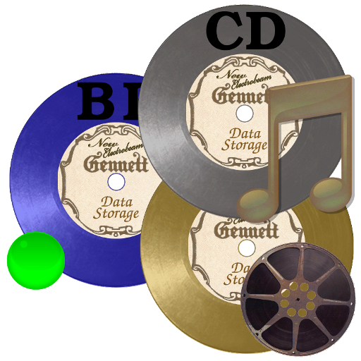 Steampunk Gnome Disks Icons
