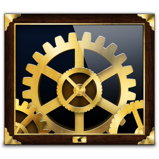 Steampunk System Preferences Icon