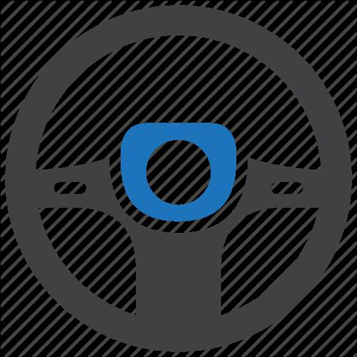 Driving, Steering, Wheel Icon